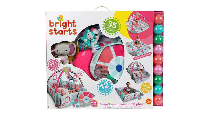 Bright Starts 5 en 1 manta juego