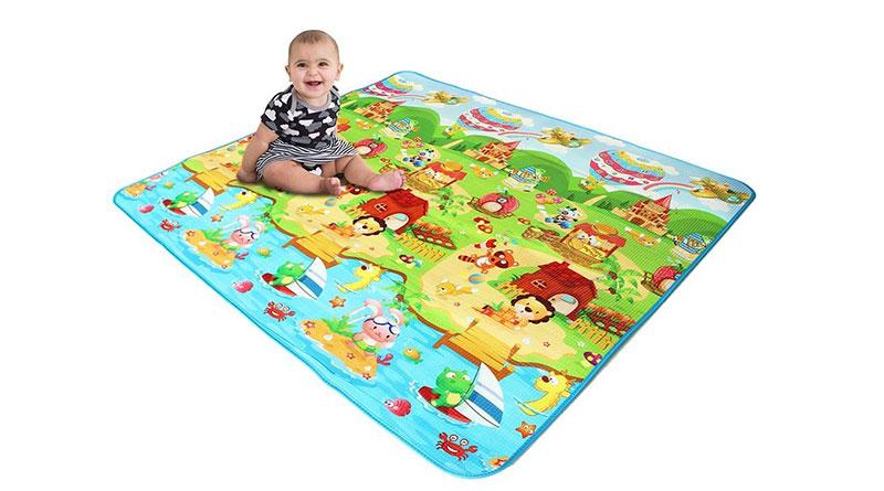 alfombra de juegos
